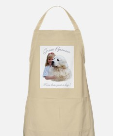 Great Pyrenees BBQ Apron - More than just a dog.