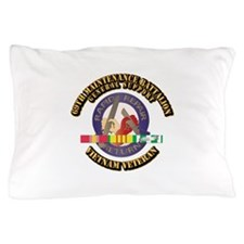Army - 69th Maintenance Bn w SVC Ribbon Pillow Cas