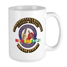 Army - 69th Maintenance Bn w SVC Ribbon Mug