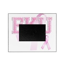 EKU initials, Pink Ribbon, Picture Frame
