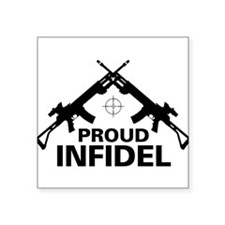 Infidel Rectangle Sticker
