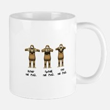 Hear No Evil Monkeys Mug