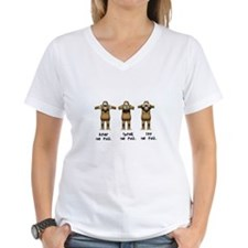 Hear No Evil Monkeys Shirt