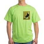 Black Bald West Green T-Shirt