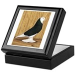Black Bald West Keepsake Box