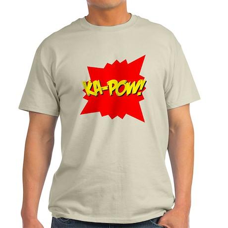 Ka-Pow! Ash Grey T-Shirt