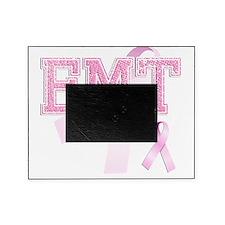 EMT initials, Pink Ribbon, Picture Frame