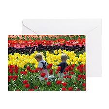 NoteTulipKids Greeting Card