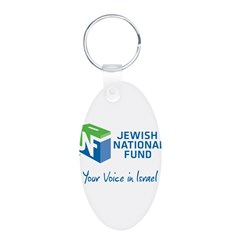 JNF logo your voice in Israel Keychains