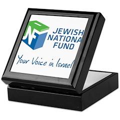 JNF logo your voice in Israel Keepsake Box
