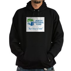 JNF logo your voice in Israel Hoodie