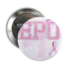 "EPO initials, Pink Ribbon, 2.25"" Button"