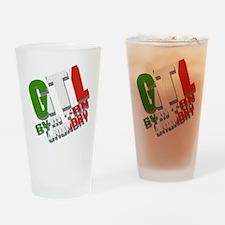 GTL Gym Tan Laundry Jersey Shore Drinking Glass
