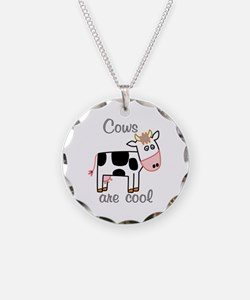 Cows are Cool Necklace
