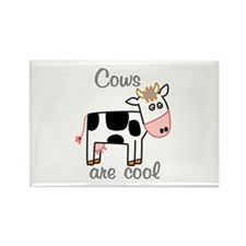 Cows are Cool Rectangle Magnet (100 pack)