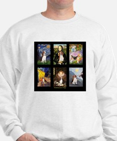 T-Beagle Famous Art Comp Sweatshirt