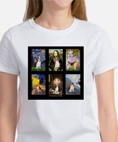 T-Beagle Famous Art Comp Women's T-Shirt