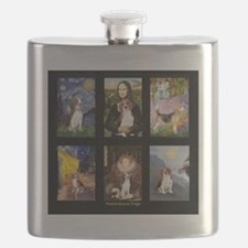 T-Beagle Famous Art Comp Flask