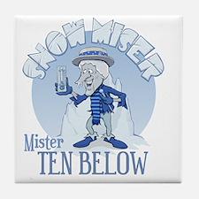 Snow Miser - Mister Ten Below Tile Coaster