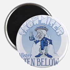 Snow Miser - Mister Ten Below Magnet