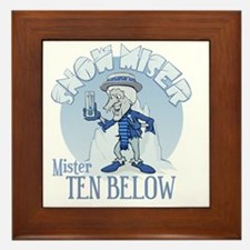 Snow Miser - Mister Ten Below Framed Tile