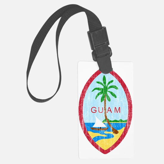 Guam Coat of Arms Luggage Tag