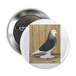 Silver Check Bald Button