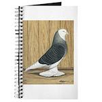 Silver Check Bald Journal