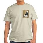 Silver Check Bald Light T-Shirt