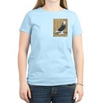 Silver Check Bald Women's Light T-Shirt