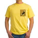 Silver Check Bald Yellow T-Shirt