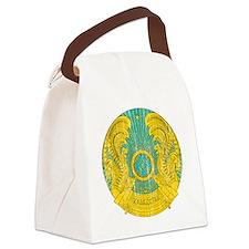 Kazakhstan Coat of Arms Canvas Lunch Bag