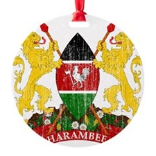 Kenya Coat of Arms Ornament