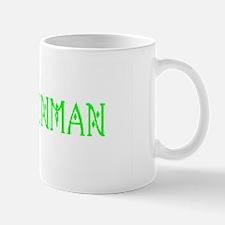 Aluminum License Plate Mug