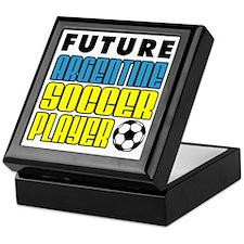 Future Argentine Soccer Player Keepsake Box