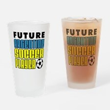 Future Argentine Soccer Player Drinking Glass