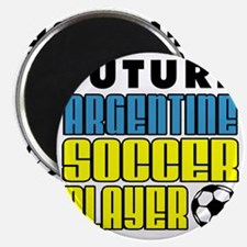 Future Argentine Soccer Player Magnet