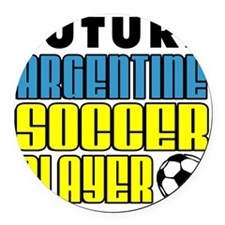 Future Argentine Soccer Player Round Car Magnet