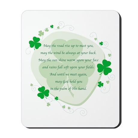 Irish Blessing Mousepad