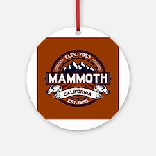 Mammoth Vibrant Ornament (Round)