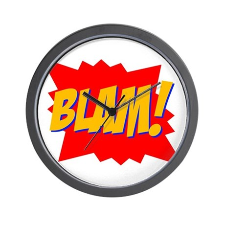 Blam! Wall Clock