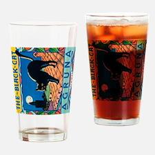 IPad The Black Cat Drinking Glass