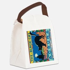 IPad The Black Cat Canvas Lunch Bag