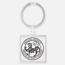 NC PAL Shotokan Karate Tiger Square Keychain