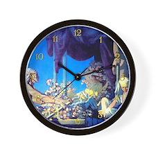 Maxfield Parrish Cleopatra Wall Clock