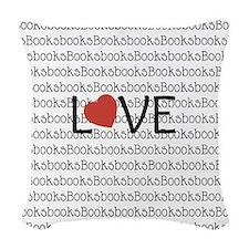 Book Love Woven Throw Pillow