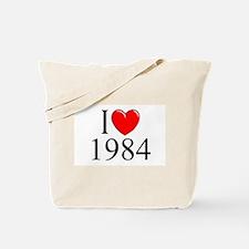 """I Love 1984"" Tote Bag"
