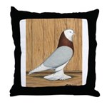 Mealy Barless West Throw Pillow