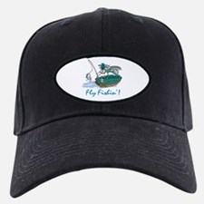 Fly Fishin' Baseball Hat