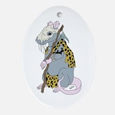 Shaman Rat Oval Ornament